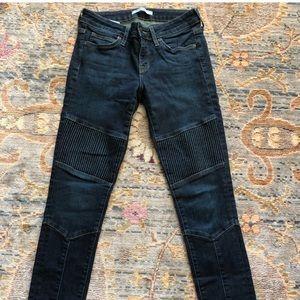 Rich & Skinny moto jeans.